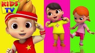 Head Shoulders Knees and Toes   Boom Buddies   Nursery Rhymes for Kids