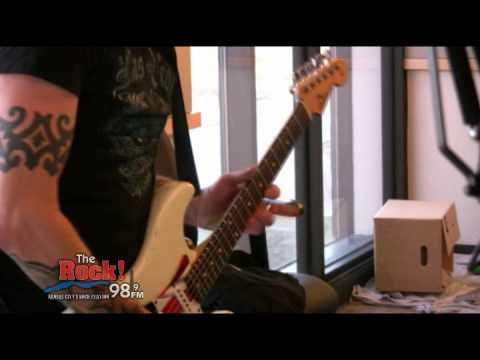 Gary Hoey Live on The Johnny Dare Morning Show -