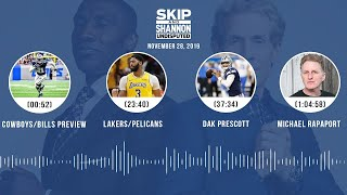 Cowboys/Bills, Lakers/Pelicans, Dak Prescott, Michael Rapaport | UNDISPUTED Audio Podcast
