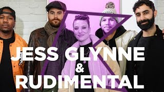 Jess Glynne and Rudimental talk house parties, collabs and new music!