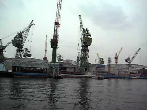 Kobe Harbor  Mitsubishi Ship Building