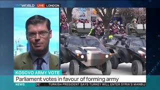 KOSOVO ARMY VOTE: Interview with Professor James Ker-Lindsay