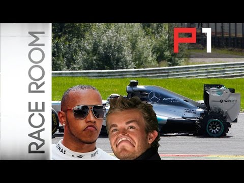 F1 2014 - Rosberg and Hamilton crash at Belgian Grand Prix - whose fault was it?