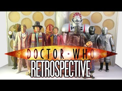 Classic Doctor Who Action Figures - 10th Anniversary Retrospective