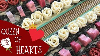 Making of Queen of Hearts Cold Process Soap | ♥️ GYPSYFAE CREATIONS