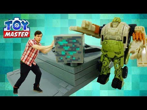 Нападение ДЕСЕПТИКОНОВ! Игры #Трансформеры 5 🖐 Последний рыцарь Федор #ToyMaster помогает АВТОБОТАМ