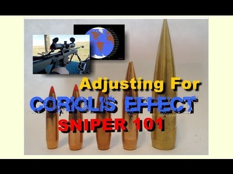 SNIPER 101 Part 73 - Coriolis Effects on Rifle Bullets