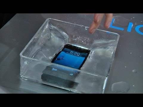 CES 2013: How Liquipel Will Make Your Phone Waterproof