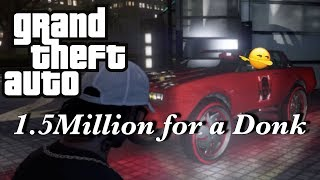1.5 million Red candy apple Donk Grand Theft Auto 5