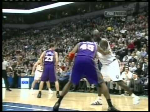 Kevin Garnett 47 pts,17 reb vs Amare Stoudemire 34 pts,8 reb, season 2005 wolves vs suns
