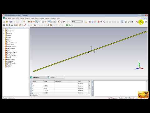 CST MWS Tutorial 07: Design of a Half-wave Dipole