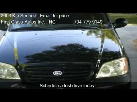 2003 Kia Sedona LX - for sale in Denver, NC 28037