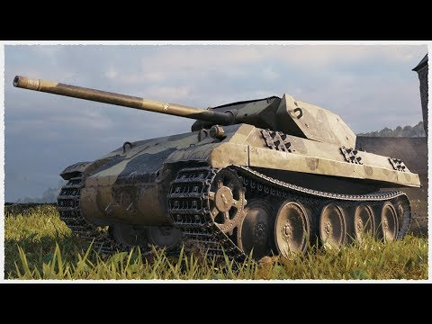 Panther/M10 • Best Battle on WORST TIER 7 PREMIUM TANK • WoT Gameplay