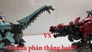 Zoids đồ chơi Thú Vương Đại Chiến Death Rex Zoids wild 12 vs vs Glaciosaurus Zoids wild 08