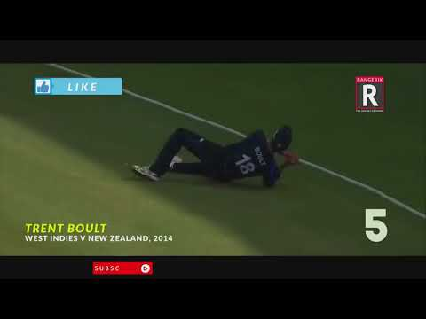 Top 10 Best Catches in Cricket Ever hd