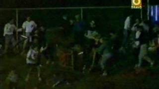 Kerry Madsen flips sprint car into the crowd at Parramatta Raceway 1992