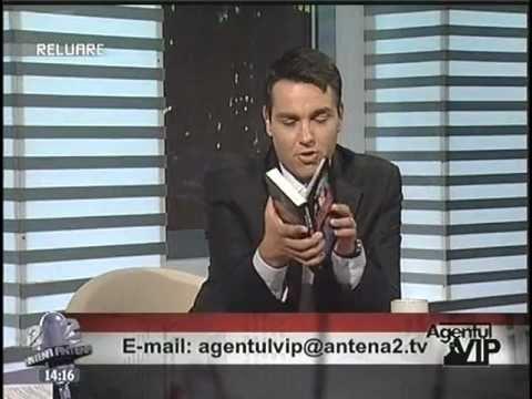 AGENTUL VIP - 2009.05.15 - DE CINE ESTE CONDUSA LUMEA - Emil Strainu {Antena 2}
