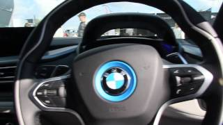CarFest South 2014 - Sitting in side the BMW i8