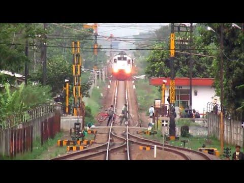 Menantang Kereta Api - Face to Face with KRD Ekonomi Bandung Raya
