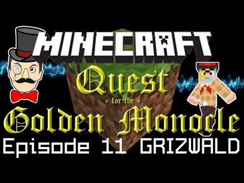 Minecraft Adventure Quest for the Golden Monocle! Cell Phone, Great Escape & Riches?! PART 11