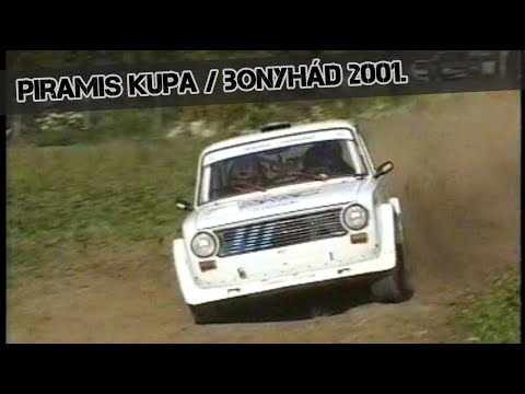 #RetroRallye NO'23. / Piramis kupa 2001.- Bonyhád -TheLepoldMedia