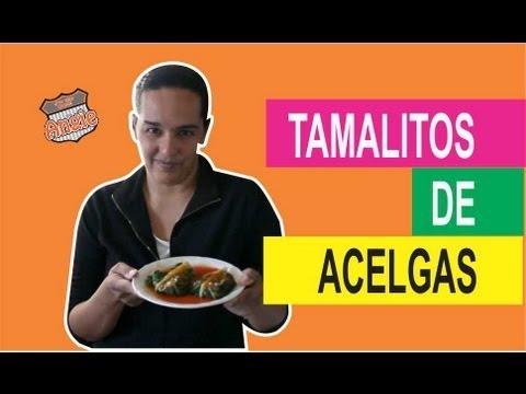 RECETA DE TAMALES DE ACELGA SUPER FACIL