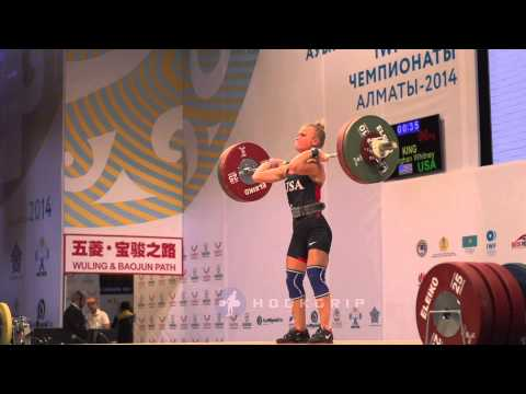 Morghan King (48) - 96kg Clean & Jerk
