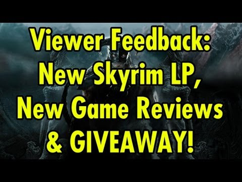 New Skyrim LP, New Game Reviews & Giveaway!
