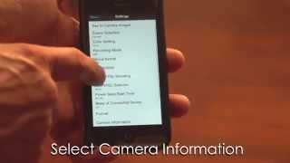 02. How to Check the Software Version of your Sony Action Cam Using an Apple Smartphone