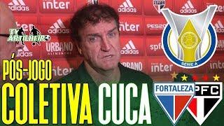 [Série A '19] Coletiva Cuca   Pós-jogo Fortaleza EC 0 X 1 São Paulo FC   TV ARTILHEIRO