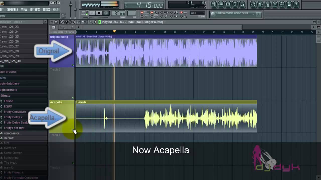 How to make acapella in fl studio easy youtube for Acapella salon plainwell