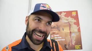 Dakar 2018: intervista con Antoine Meo