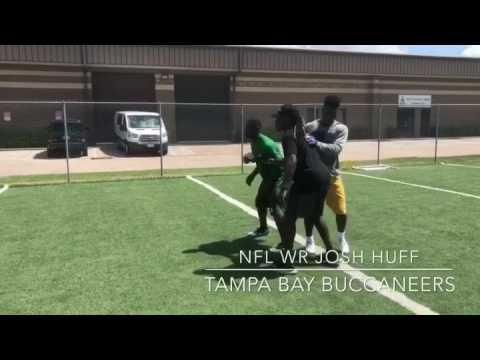 Josh  Huff - Tampa Bay Buccaneers -NFL WR - Pro Fit Houston