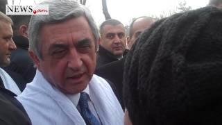 Serj Sargsyane xostacav endunel hacadul anogh Arushanyannerin