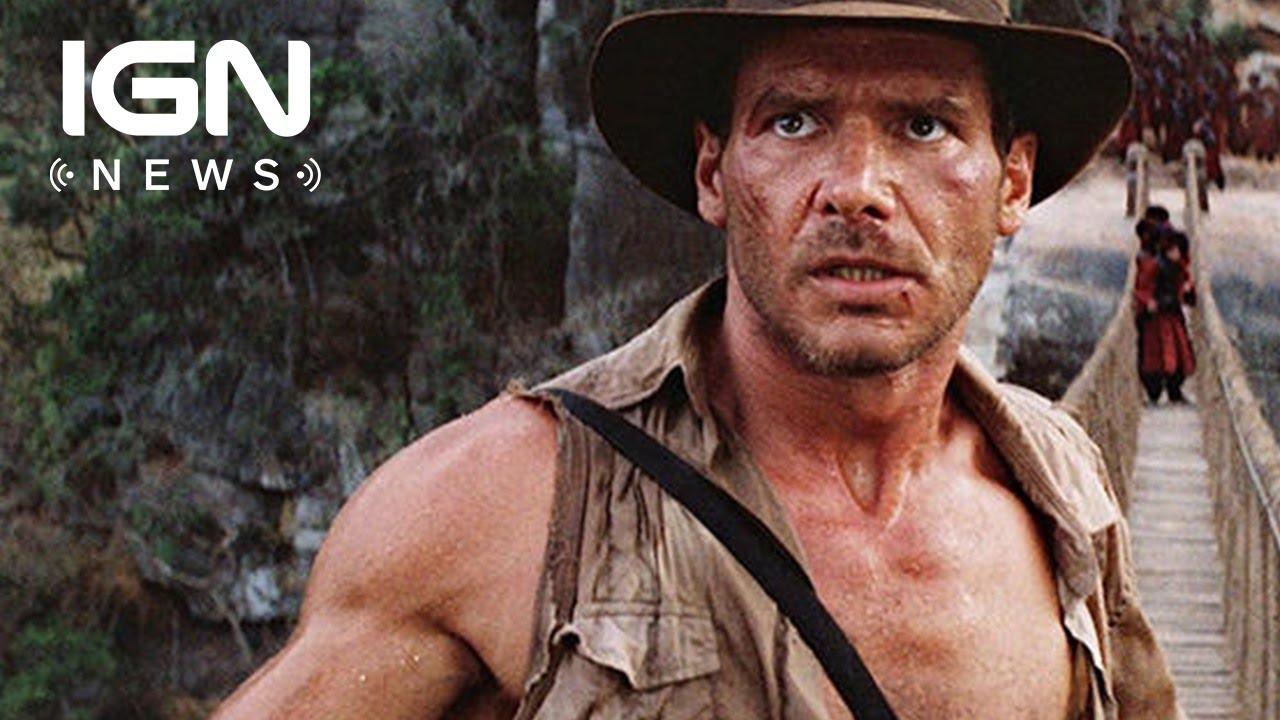 Spielberg Talks Indiana Jones 5, Teases Harrison Ford's Involvement - IGN News