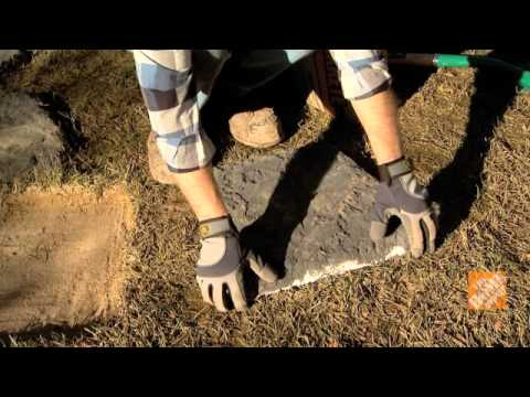C mo instalar piedras de patio youtube - Como preparar el jardin ...