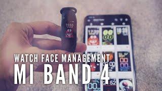 Watch Faces Management | Mi Band 4