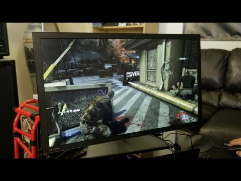 4K Ultra HD PC Gaming: Splinter Cell Blacklist! (ASUS PQ321Q 4K 31.5-Inch Monitor)
