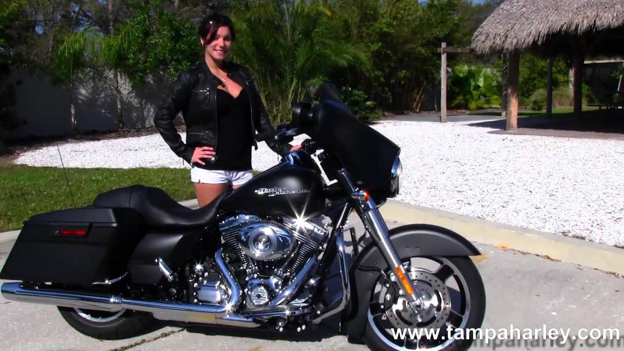New 2013 Harley Davidson Flhx Street Glide In Black Denim
