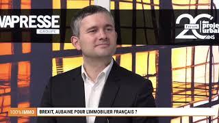 100% IMMO : Brexit, une aubaine pour l'immobilier français ?