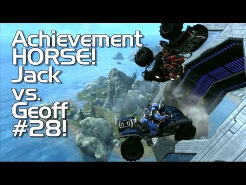 Halo: Reach - Achievement HORSE #28 (Jack vs. Geoff TO THE DEATH!)