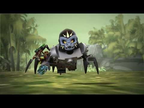 Lego Chima   70130   Sparratus Spider Stalker   Lego 3D Review