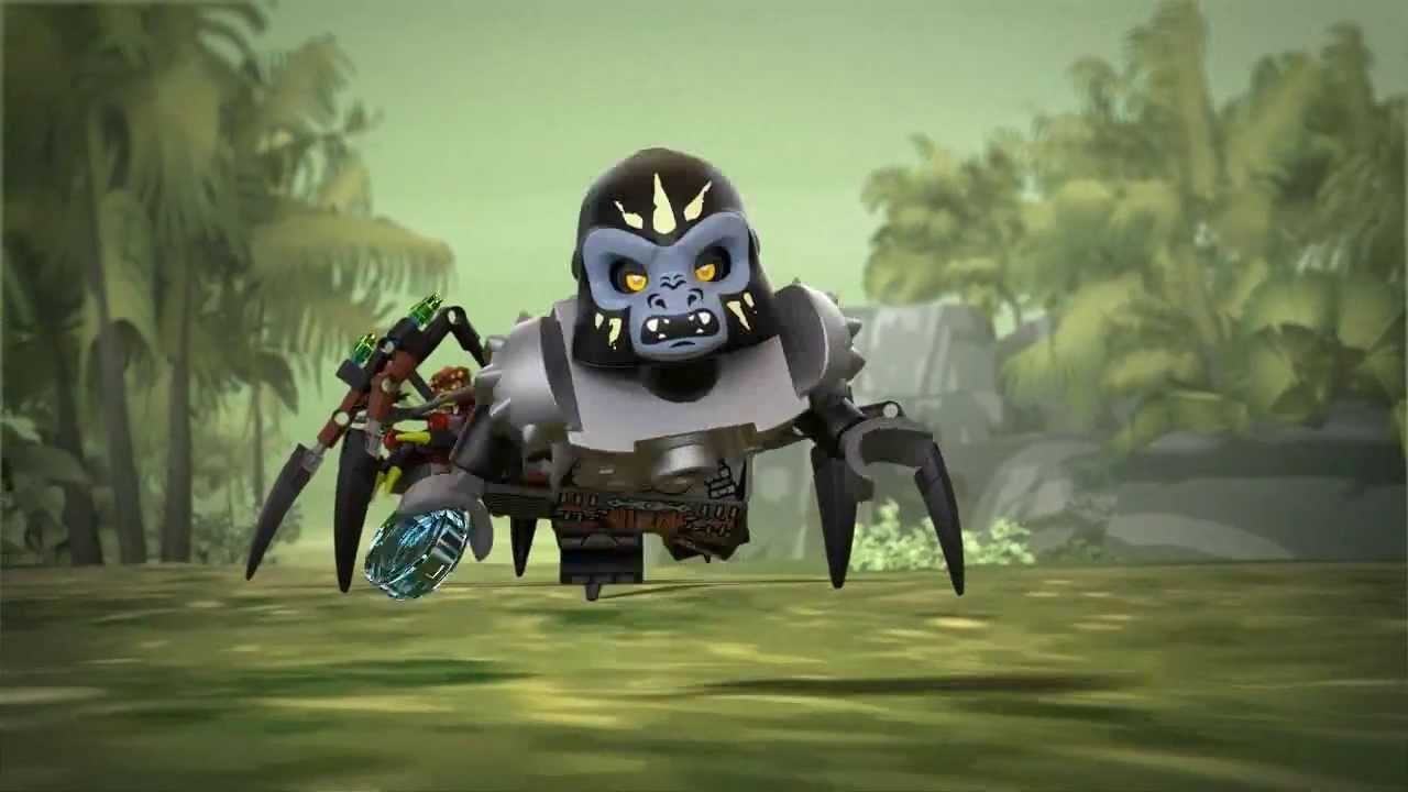 Lego chima 70130 sparratus spider stalker lego 3d review youtube - Lego chima a colorier ...