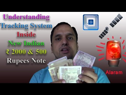 Explaining Tracking Technology Inside New ₹ 2000 & 500 Rupees Note| GPS| Black Money