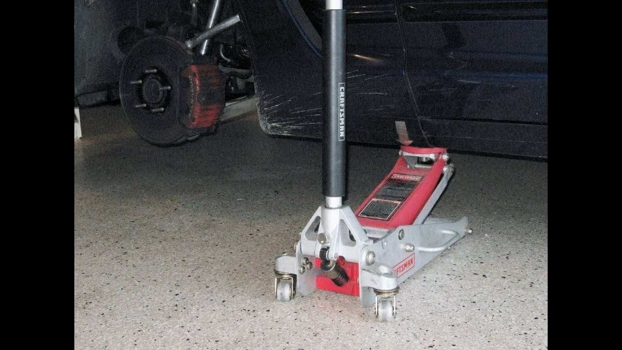 Corvette Lifting Jacking 3 Jack Method By Froggy Raise
