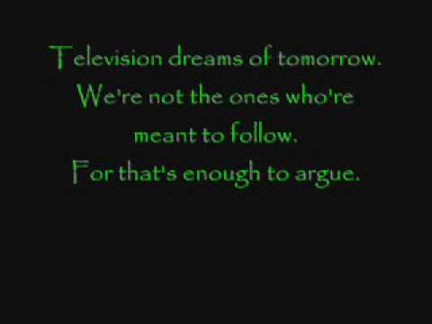 Green Day - American Idiot ((lyrics)) video