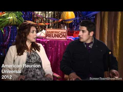 Jason Biggs & Alyson Hannigan HD Interview - American Reunion