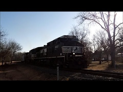 Railfanning Bald Knob AR 1-20-14 Part 1
