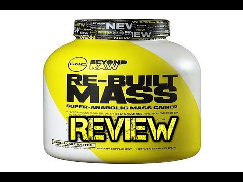 Weight Gainer Reviews: Beyond Raw Re-Built Mass Review