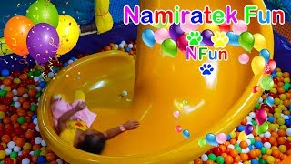 #2 Bermain Mainan Anak Mandi Bola Taman Anak-Anak di Mall - Playing Kids Pool Fun Balls Playground